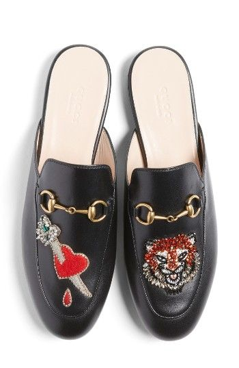 864e93376fd Free shipping and returns on Gucci Princetown Backless Loafer (Women) at  Nordstrom.com. Pre-order this style today! Add to Shopping Bag to view  approximate ...