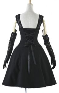 Pyon Pyon LQ-030 Hepburn dress retro elegance