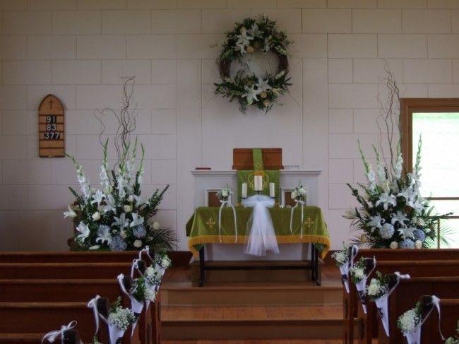 Creative Simple Church Altar Wedding Decorations Addicfashion