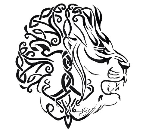 bf2ed6dccd34c Celtic Lion by Sarah Jewett | My Shoppe | Celtic tribal tattoos ...