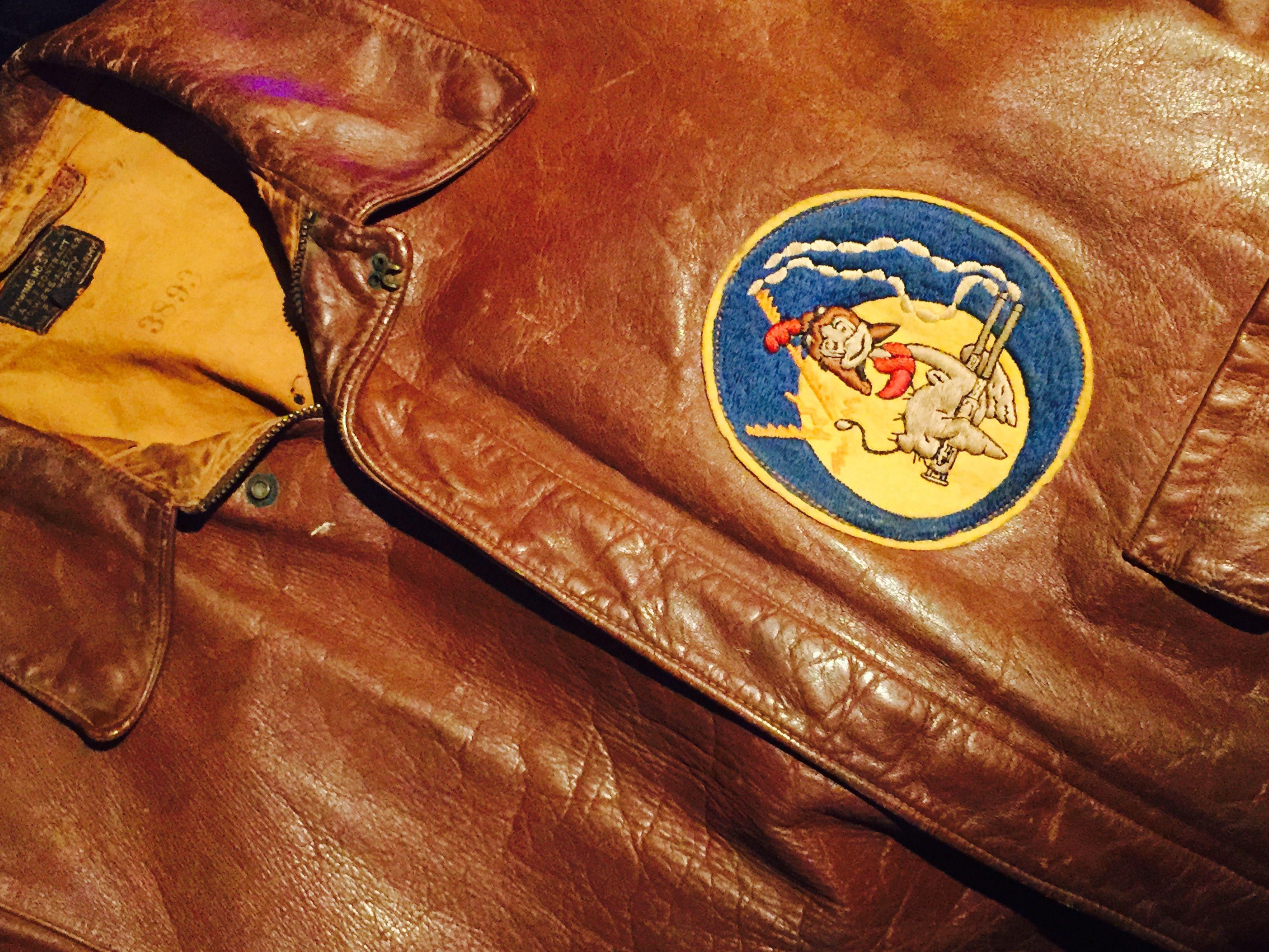 Pin By Spencer Hoglund On Flight Jackets Wwii Bomber Jacket Flying Jacket Leather Flight Jacket [ 2448 x 3264 Pixel ]