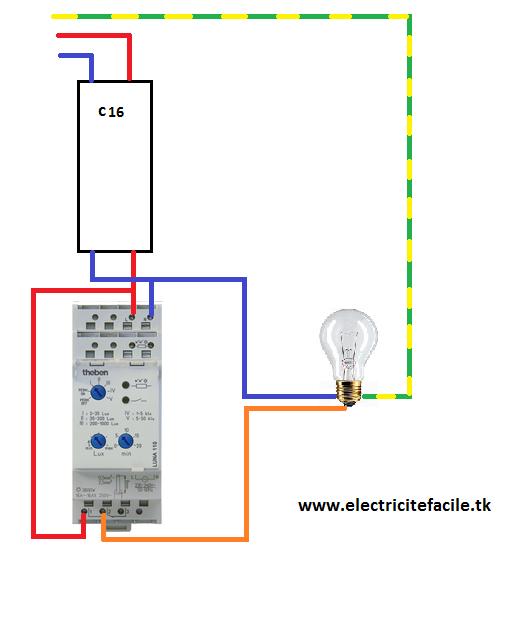 Interrupteur Crepusculaire Schema Electrique Cablage Interrupteur Logiciel Schema Electrique