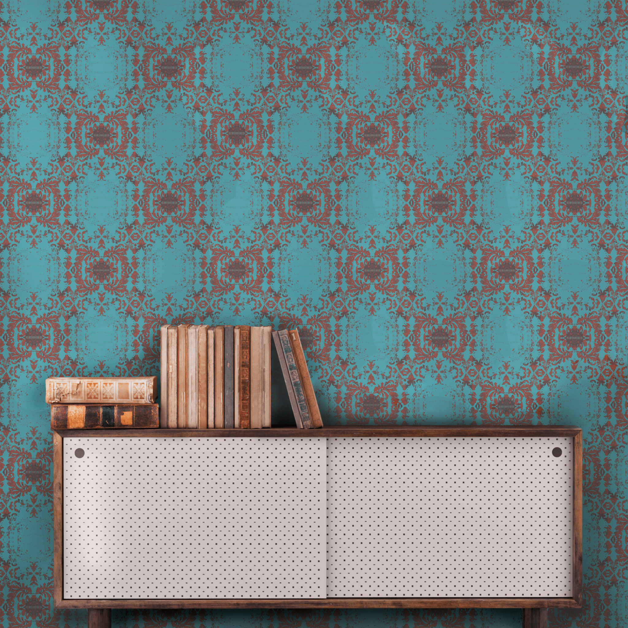 Peel And Stick Wallpaper In Exclusive Smithhonig Designer Patterns Peel And Stick Wallpaper Stick On Wallpaper Damask Wallpaper