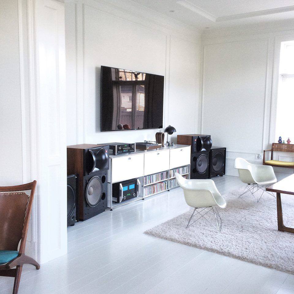 Mcintosh and Jbl 4430 setup...   Stereo System   Pinterest   Audio ...