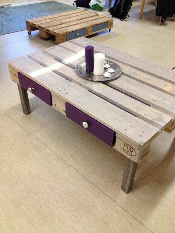 Skandinavisches Design Möbel Paletten Tisch
