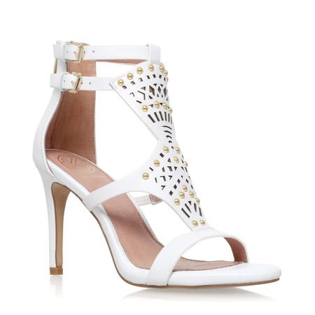 KG by Kurt Geiger Nuovo Heeled Wedges , White ($60) liked