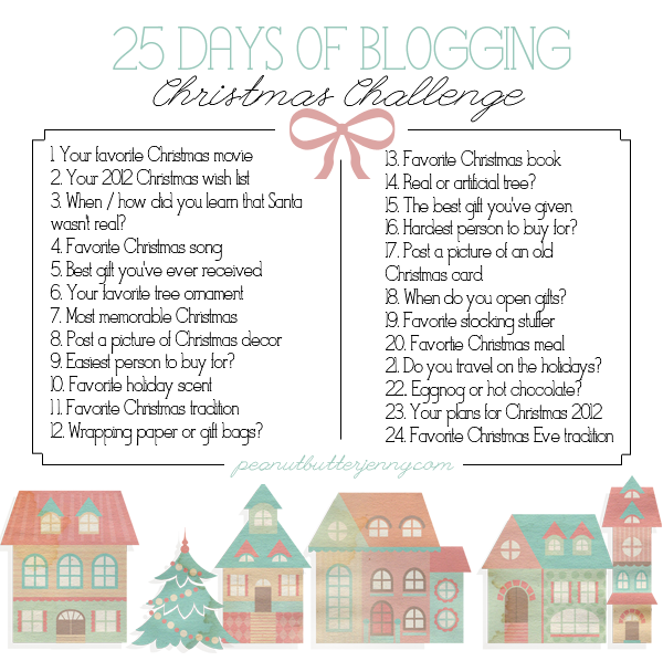 Christmas Challenge.25 Days Of Blogging Christmas Challenge Day 1 Blogging