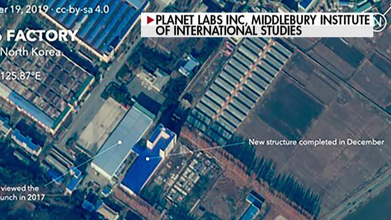 FOX NEWS Satellite images show work at North Korean site