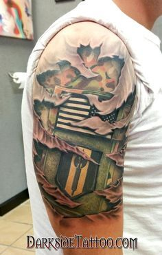 37 Awesome Army Tattoos That Make Us Proud Tattoos