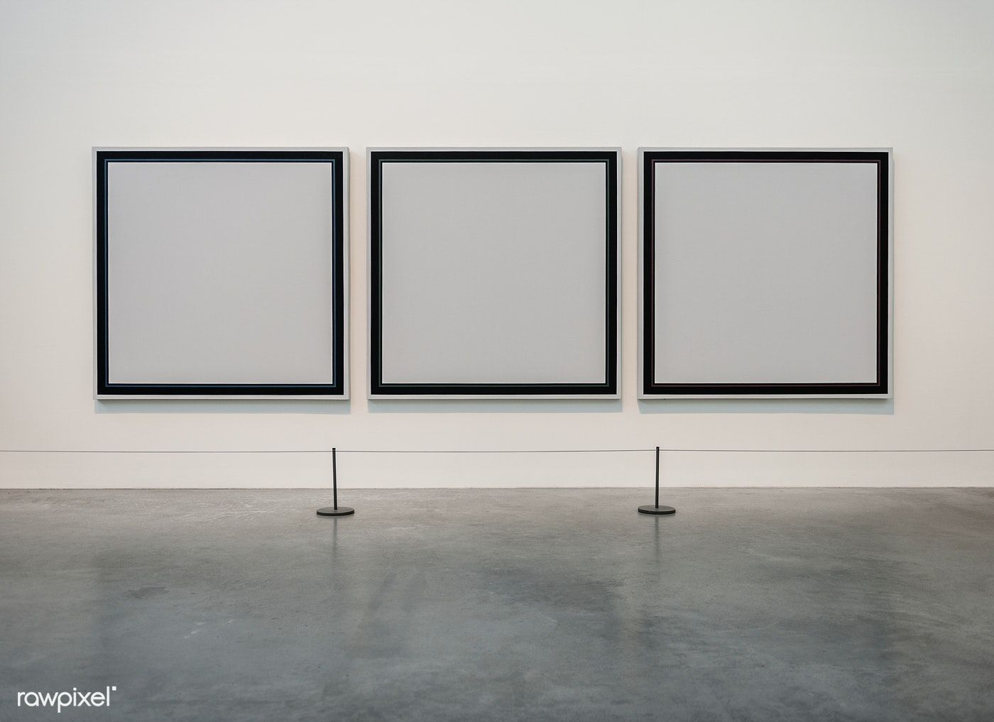 Empty Frames At A Gallery Free Image By Rawpixel Com ในป 2020