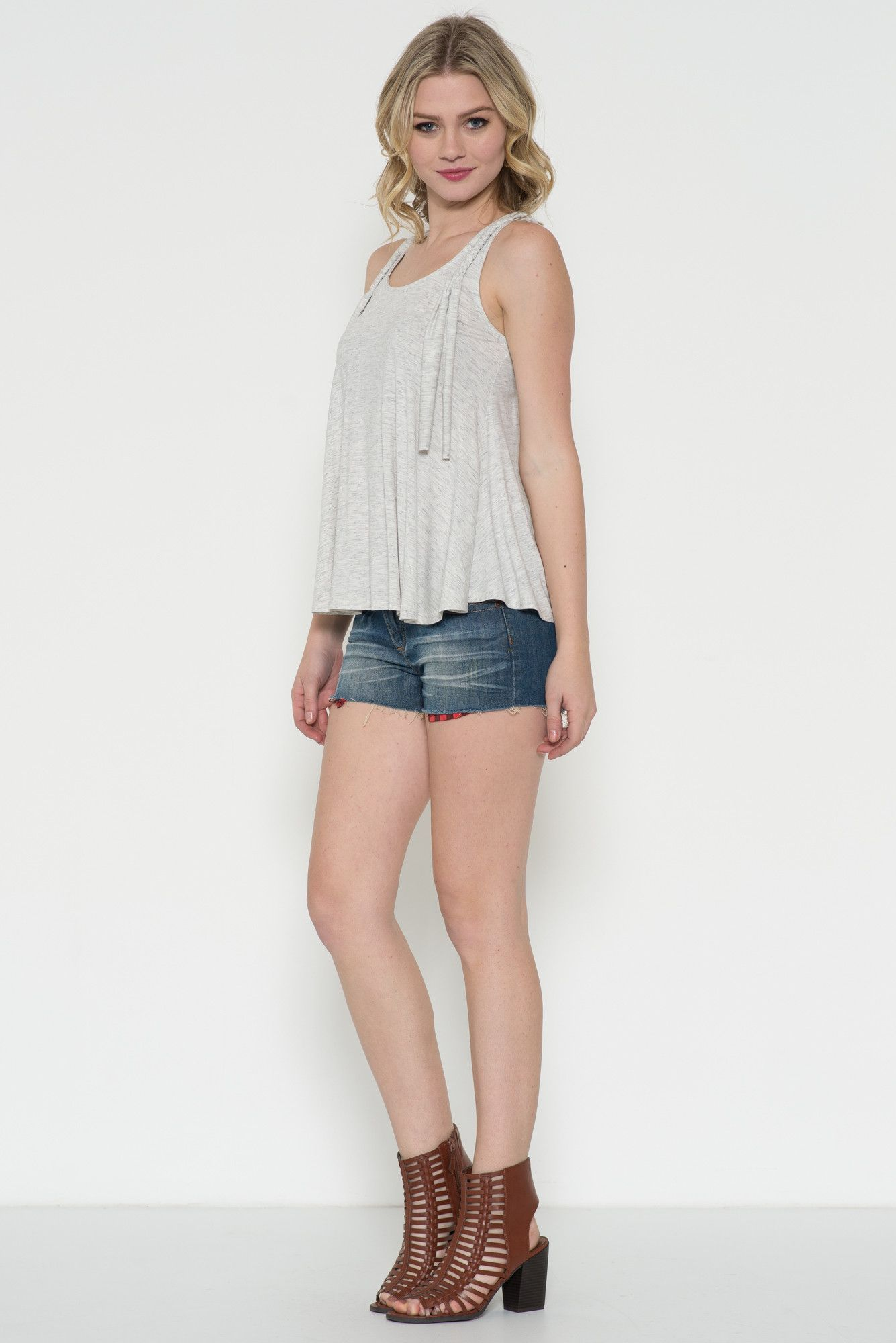 Braided Detail Tank