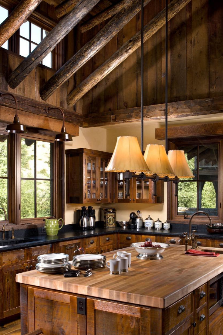 The Awesome Benefits Of Using Recycled Timber For Rustic Kitchen Designs