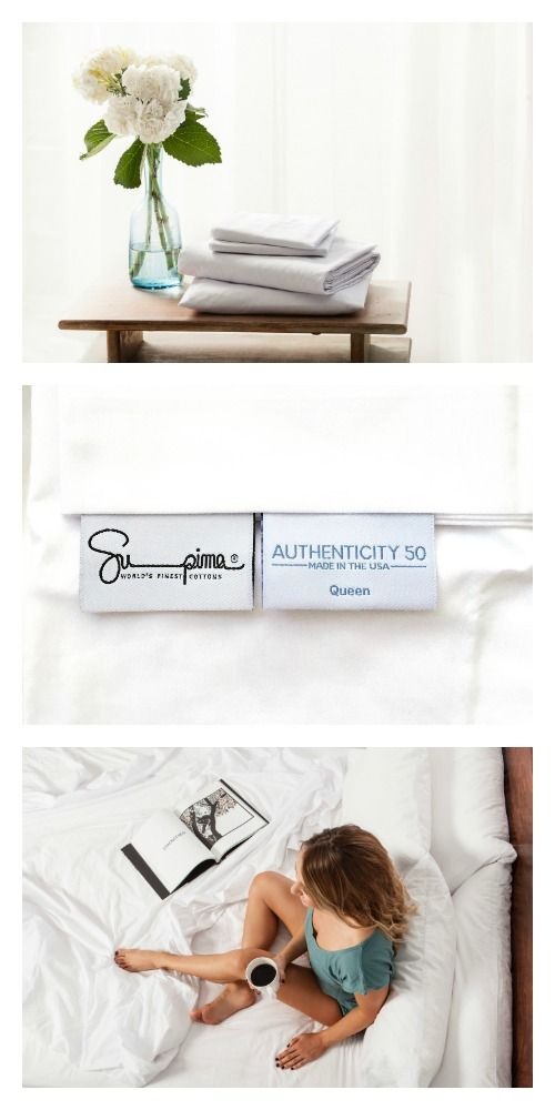 Authenticity 50 100 Made In Usa Luxury Bedding