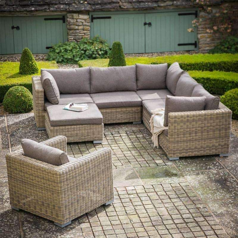 Marden All Weather Rattan Corner Sofa Set Duck Barn Interiors Garden Sofa Set Garden Furniture Sets Cheap Patio Furniture