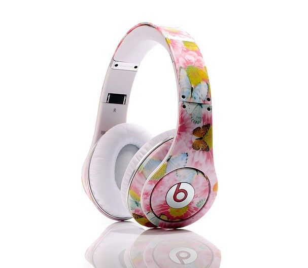 Headphones Beats By Dr Dre Studio Butterfly Headphones Limited Edition And Enjoy Your Life Aristocrats Monster Headphones Pink Headphones Headphones