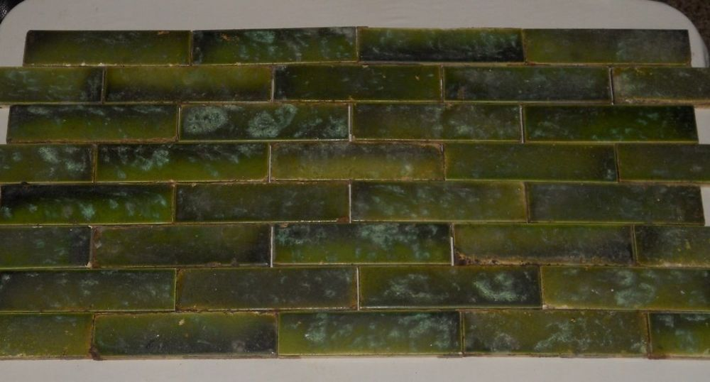 Antique Victorian Salvaged Fireplace Tiles Early 1900s 36 Tiles 1 5 X 6 Vintage Fireplace Salvaged Fireplace Antiques
