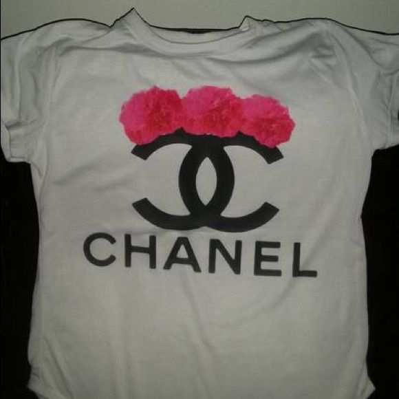 Fashion t-shirt New, NOT of mentioned brand. Runs fitted recommend going up 1 size. Chanel Tops Tees - Short Sleeve
