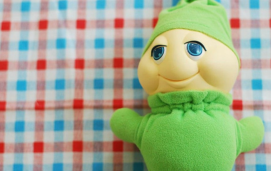Glow Worm was the perfect bedtime friend ... Better than a night light, you could cuddle this little guy too.