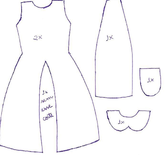 Lily-Baby-Shop: Sachê para guarda roupa - Vestido em Feltro ...