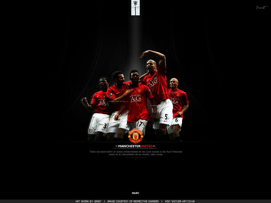 Hd wallpaper manchester united - Manchester United Football Club Wallpaper Football Wallpaper Hd 1680 1050 Wallpapers Man United 48