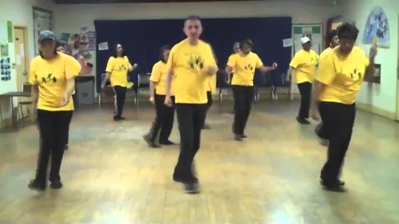 70 year old man dancing
