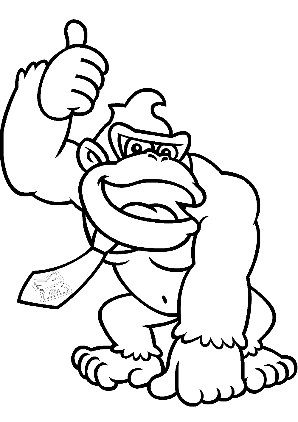 Donkey Kong Coloring Pages Educative Printable Coloring Pages Drawings Free Online Coloring