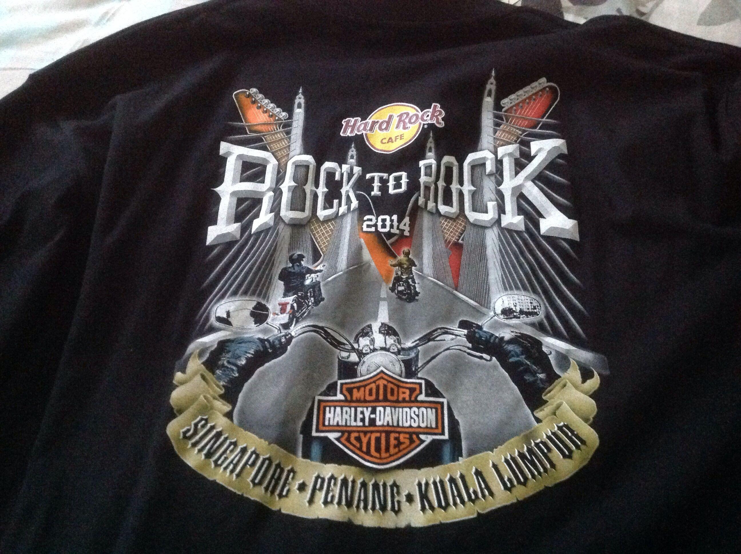 Design t shirt hard rock cafe - Hard Rock Penang Harley Tshirt Hard Rock Cafe Pinterest Hard Rock