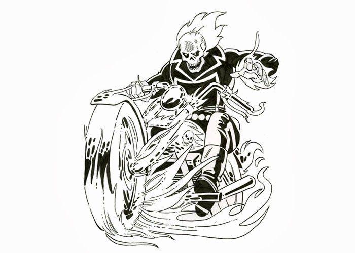 Ghost Rider Clip Art