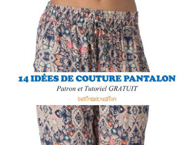 FREE  les 14 meilleures idées couture pantalon femme  Bettinael.Passion.Couture.Made in france d09a27354b3