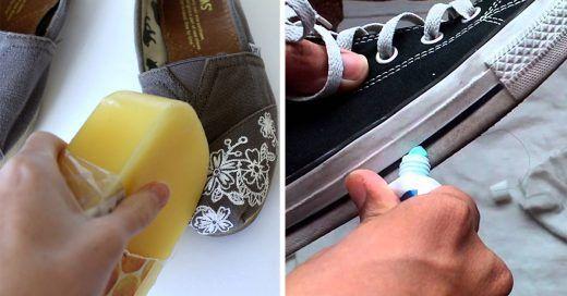 trucos para que tus zapatos luscan como nuevos