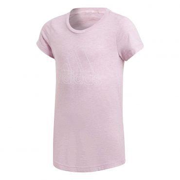 c44b8089e0c adidas ID Winner shirt junior true pink grey six white | Fitness ...