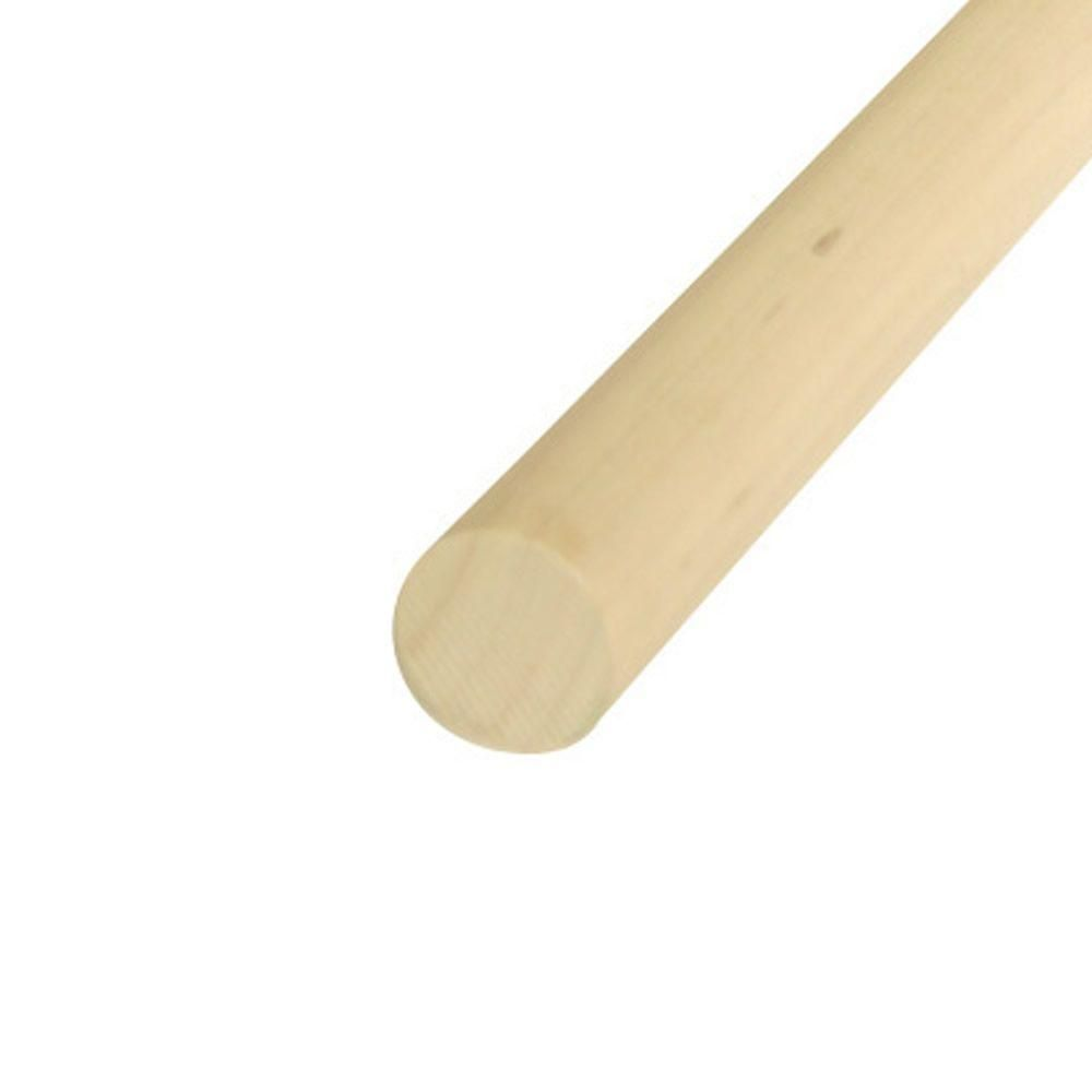 48 in. x 2 in. Wood Round Dowel-2-4EDC at The Home Depot | House ...