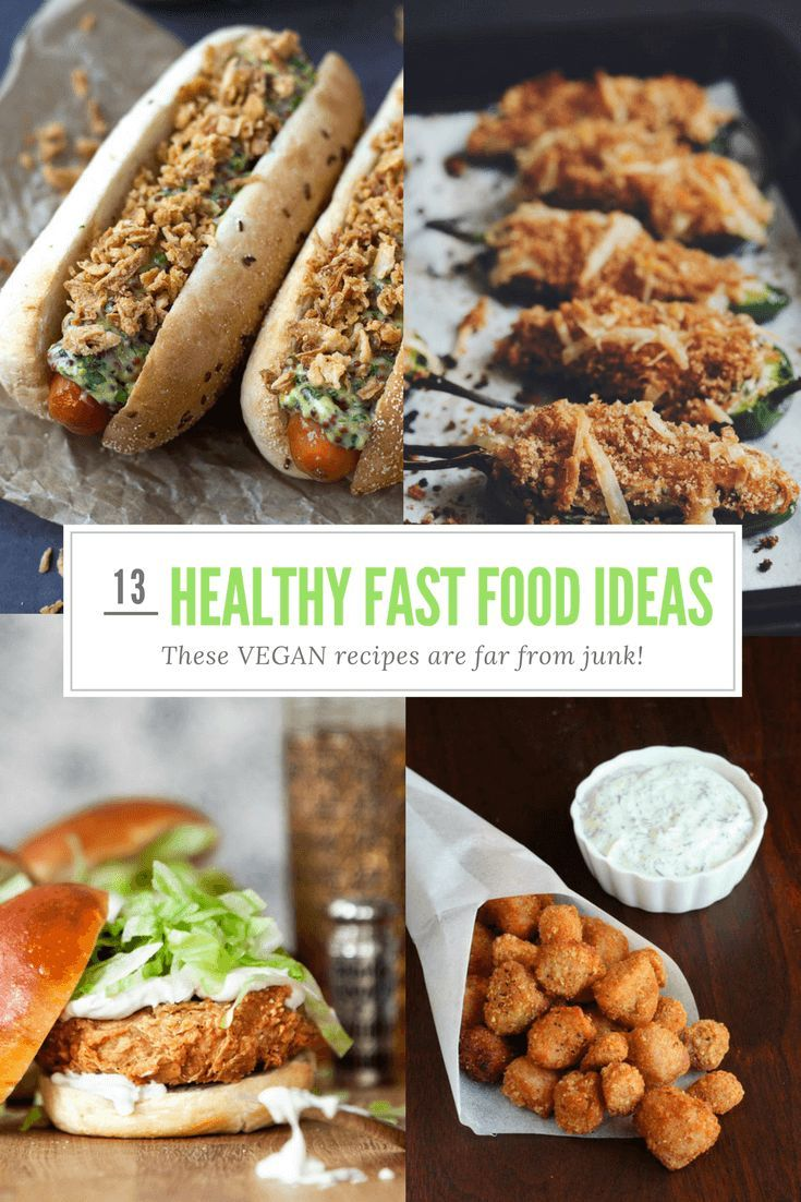 Healthy fast food 13 amazing vegan recipes that are far from junk 13 amazing vegan healthy fast food recipes that are far from junk forumfinder Choice Image