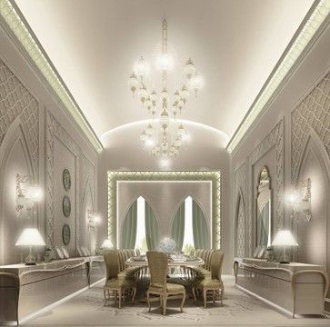 Residential Projects Dubai Traditional Spaces Other Metro Ions Design Dubai Dining