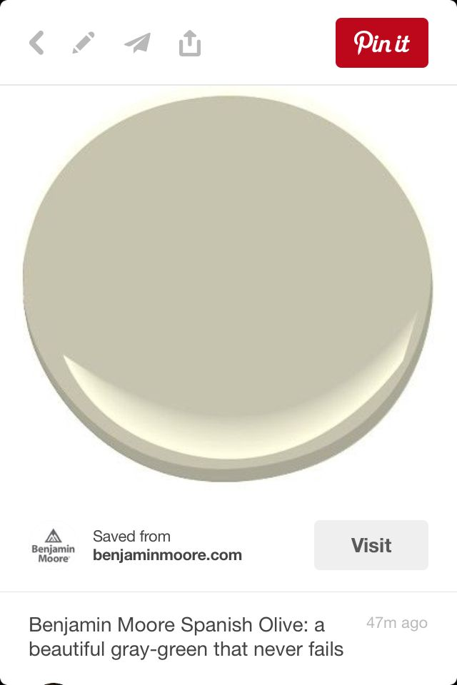 Spanish Olive Benjamin Moore Interior Paint Colors Green Color Schemes