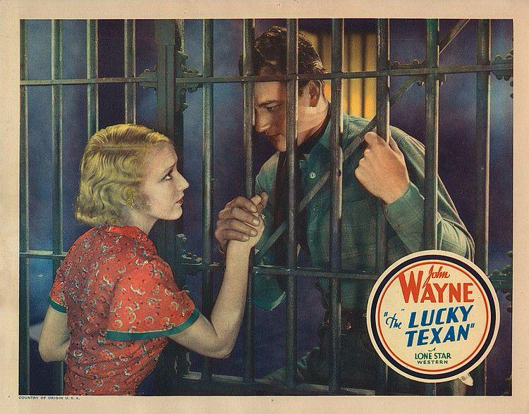 Lobby Card from the film The Lucky Texan