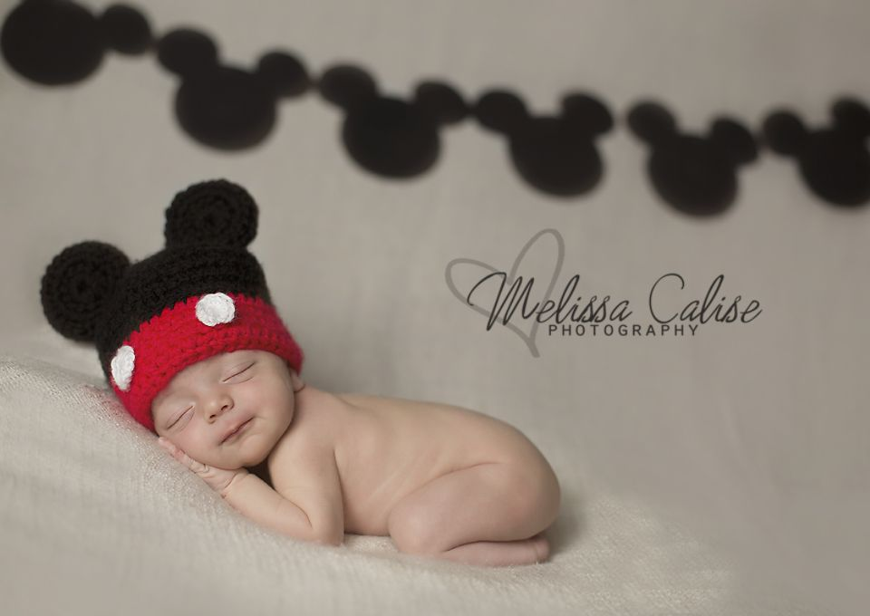 54e01463 Melissa Calise Photography (Newborn Baby Boy Mickey Mouse Disney ...