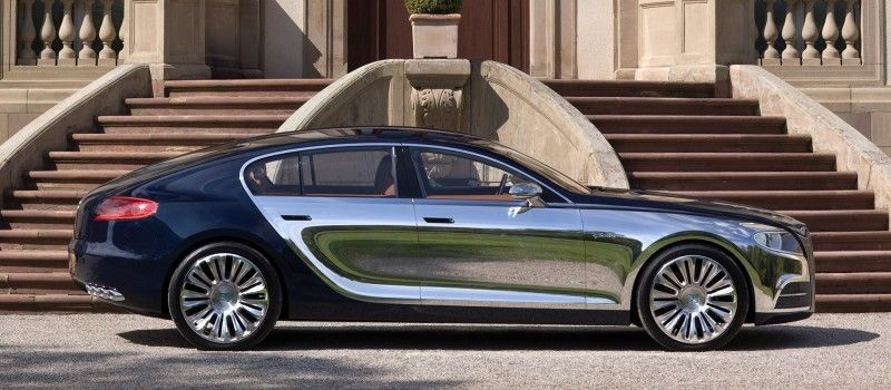 Exceptionnel Bugatti 16C Galibier U2013 The Fastest And Most Expensive Sedan In The World  Will Remain Just