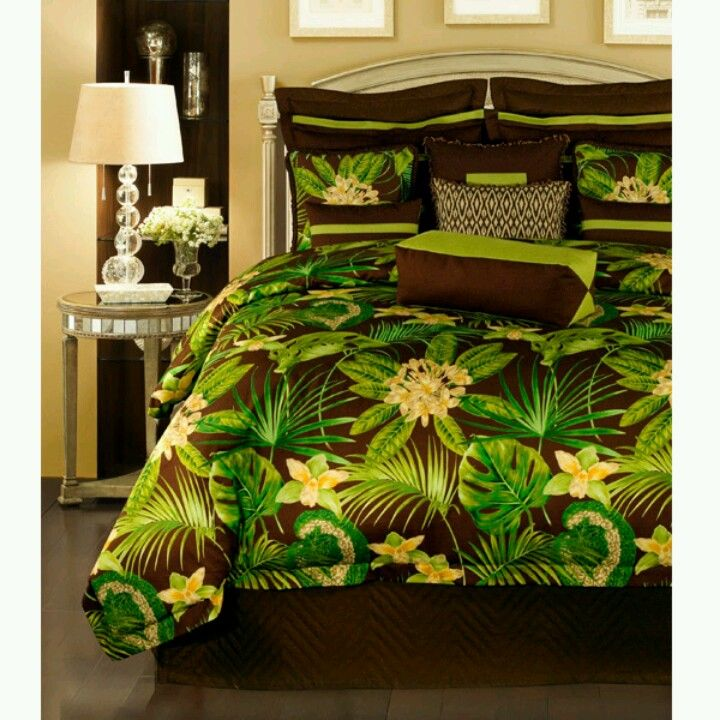 Green And Brown Bedding Beds Beds Beds Comforters