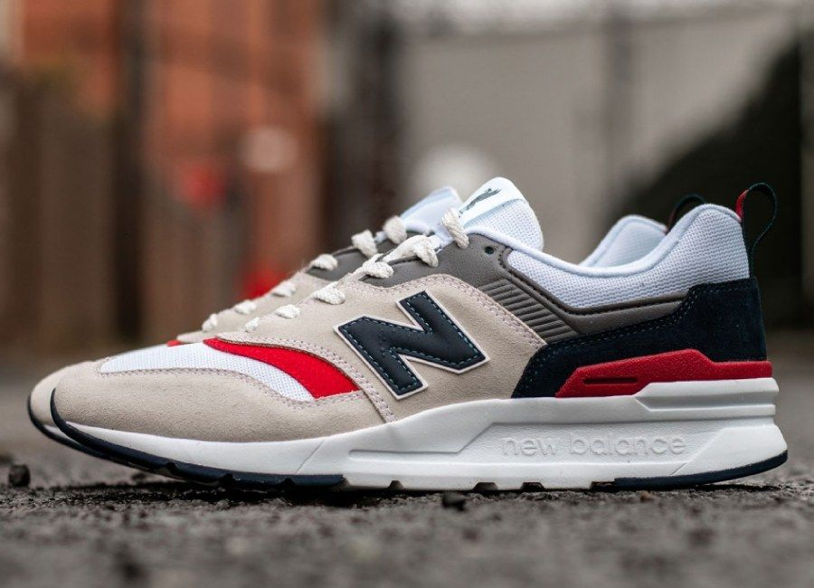 ff1d5af2734d30 New Balance X LFC 997 Trainer - White / Navy / Red #lfc #liverpoolfc ...