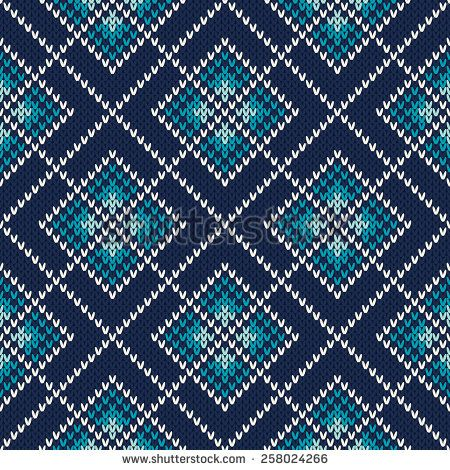 Knitted Sweater Design. Seamless Knitting Pattern | Вязание ...