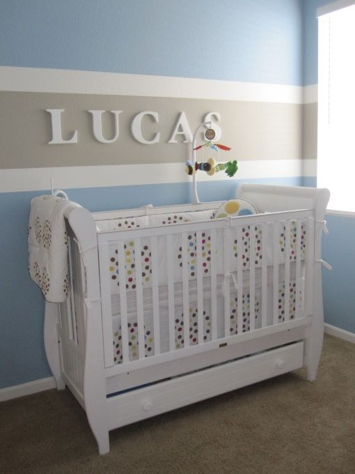 Information About Rate My Space Baby Boy Nurseries Striped