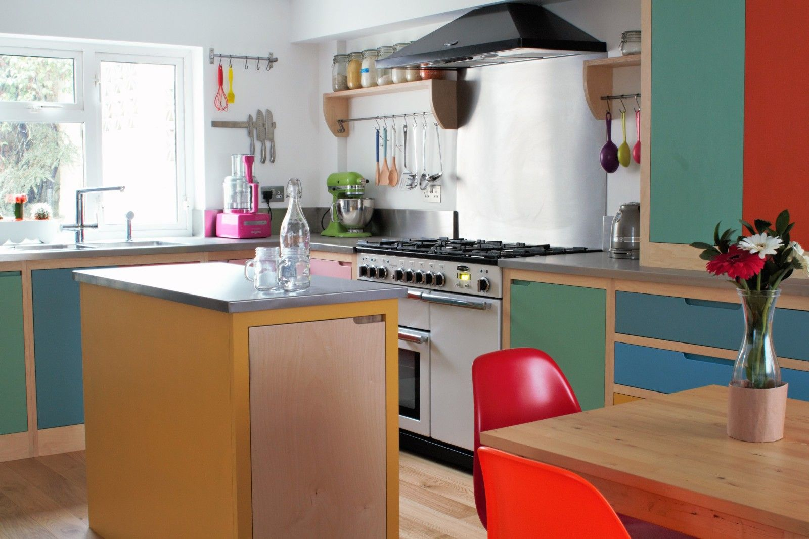 Colour by numbers kitchen plywood kitchen plywood and plywood