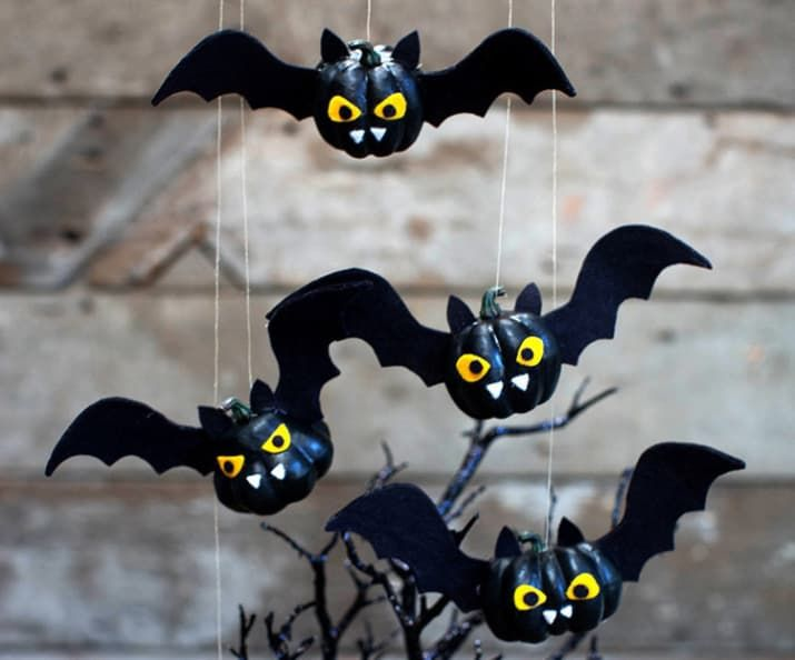 21 Last-Minute Halloween Decorations You Can Make Yourself Pumpkin - cool halloween decorations you can make