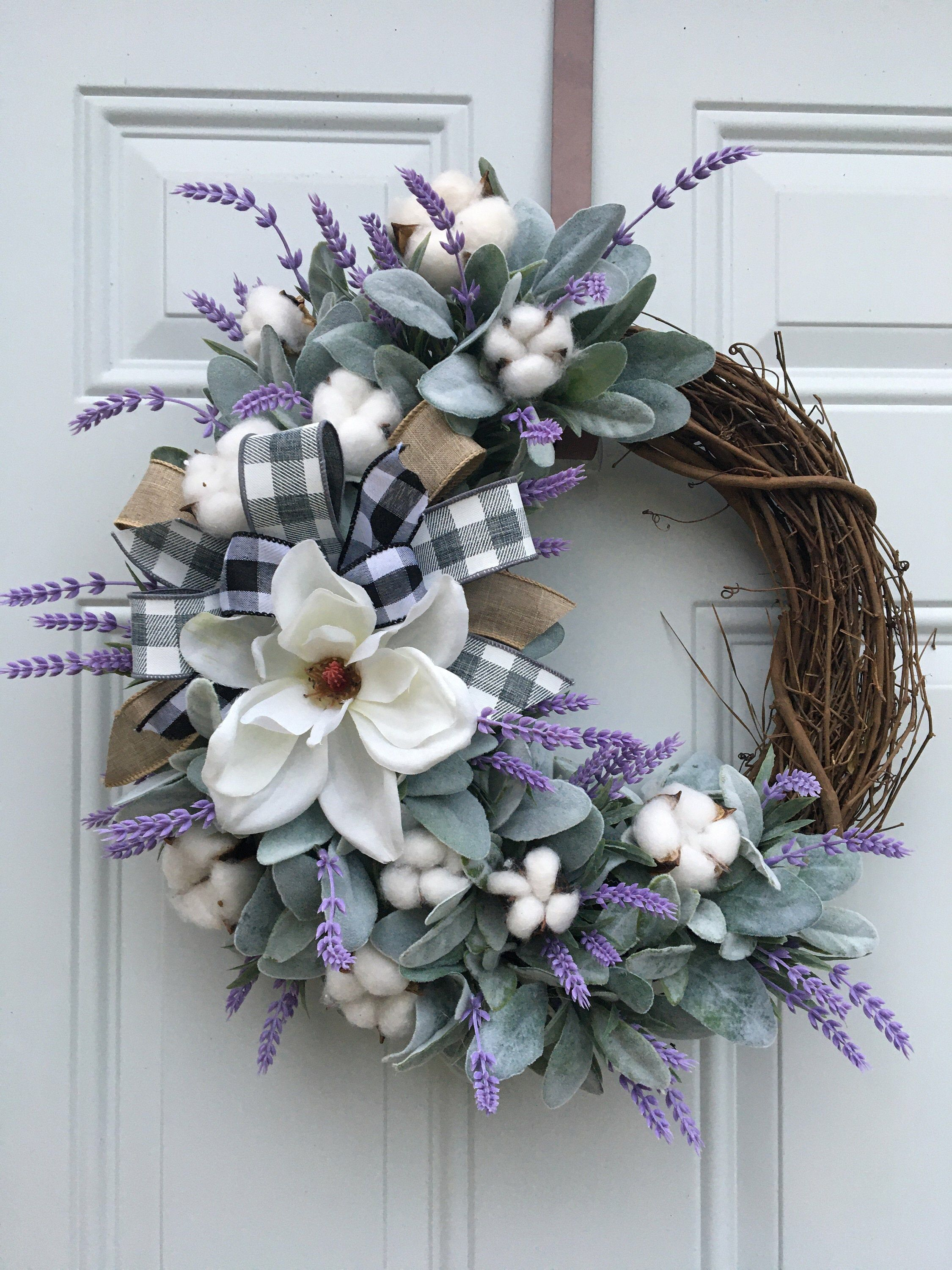 Country Wreath Everyday Wreath Grapevine Wreath Welcome to Our Neck of the Woods Farmhouse Wreath Floral Wreath Fall Wreath