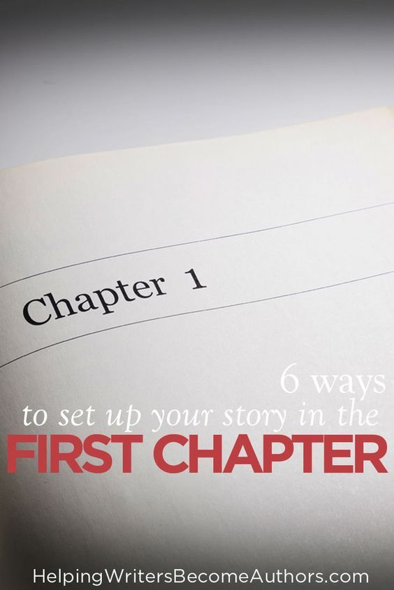 your ultimate first chapter checklist pt 3 introducing