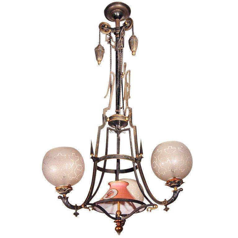 Victorian Chandelier 19th Century Victorian Chandelier