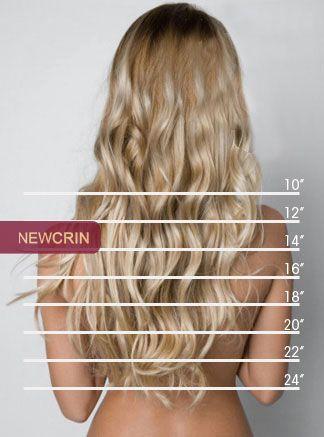 Resultado de imagen para medidas del cabello