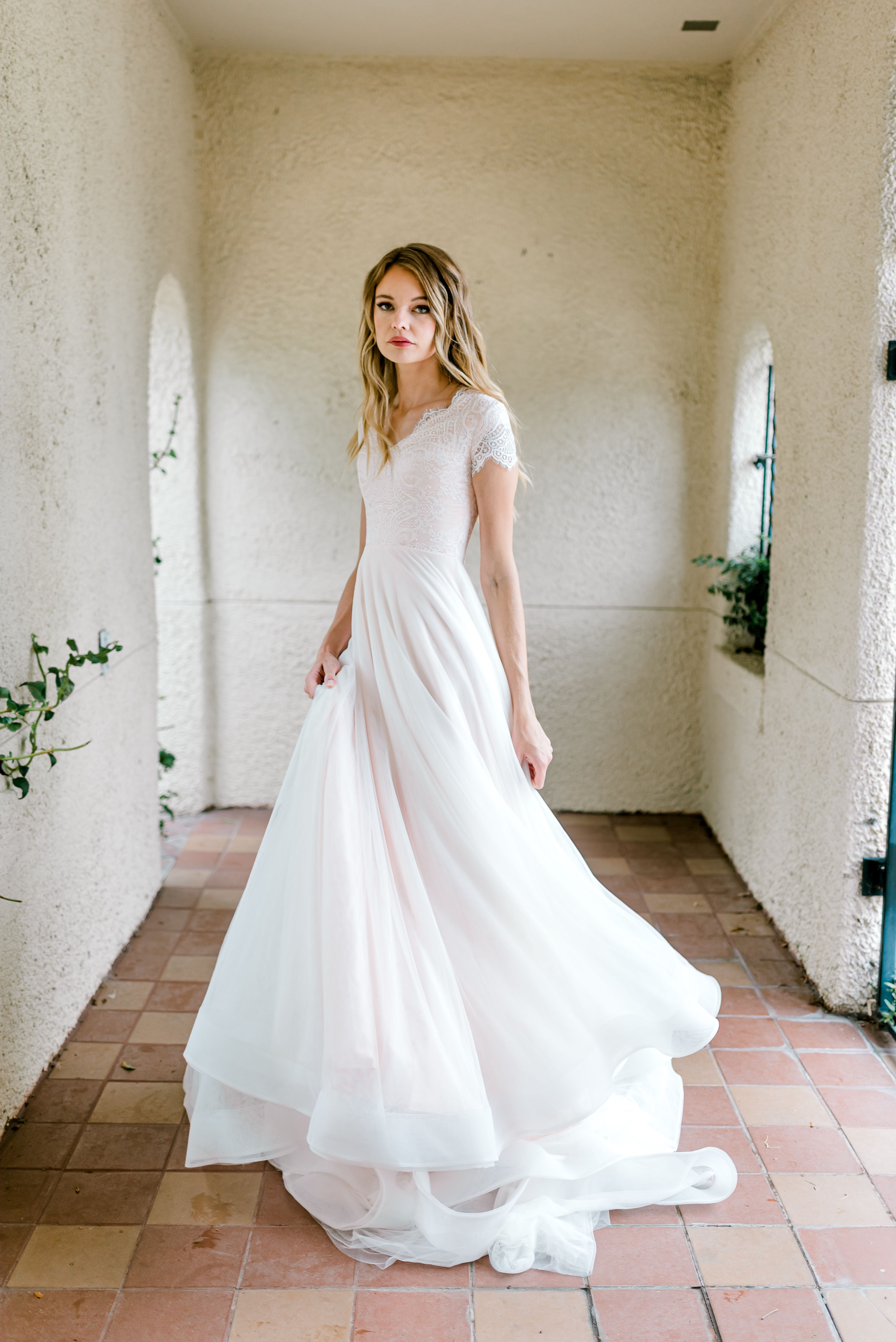 Whitney gown by Elizabeth Cooper Design Beautifully Dunn