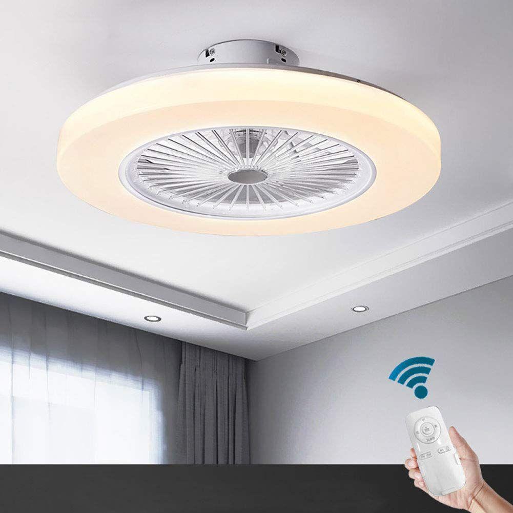 OUKANING Ventilador de Techo con iluminación y Control